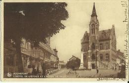 Rochefort -- L' Hôtel De L' Etoile Et L' Hôtel De Ville. (2 Scans) - Rochefort