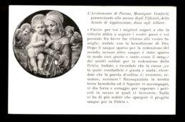 B6251 L'ARCIVESCOVO DI PARMA MONSIGNOR CONFORTI PRESENZIANDO ALLA MENSA DEGLI UFFICIALI DELLA SCUOLA DI APPLICAZIONE - Christianity