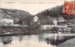 27 - Acquigny - Vue Sur L'Eure (ambulant Evreux à Hondouville 1908) - Acquigny