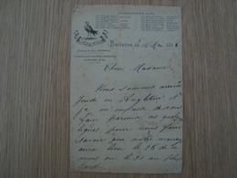 DOCUMENT TELEGRAME HOTEL METROPOLE BRIGHTON 1896 - United Kingdom