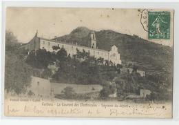 Corse - Corbara Le Couvent Des Dominicains Souvenir Du Départ Ed Orsini Pascal Calvi Cachet Ambulant Ponteleccia A 1908 - France