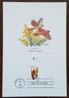Etats-Unis - CM 1982 - YT N°1398 - Faune Et Flore Officielles Des Etats De L'Union / Kentucky - Maximumkarten (MC)