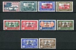 8549  WALLIS Et FUTUNA   N° 77/86**  Série  Complète   1939-40    TTB - Wallis And Futuna