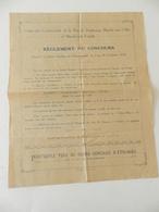 Ville D'Armentières - Dépliant Pour Le Grand Concours Des étalages En 1929 - Nombreuses Publicités - 2 Documents - Publicités