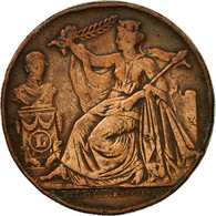 Belgique, Médaille, 25 ème Anniversaire Du Roi Léopold Ier, 1856, TB+, Cuivre - Belgium