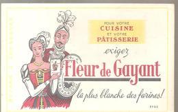 Buvard  Fleur De Gayant La Plus Blanche Des Farines! - Food