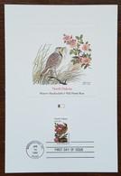 Etats-Unis - CM 1982 - YT N°1415 - Faune Et Flore Officielles Des Etats De L'Union / Dakota Du Nord - Maximumkarten (MC)