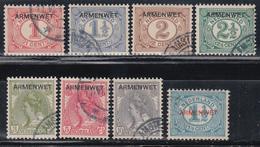 1918-1919  YVERT Nº 1 / 8 - Servicios