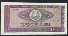 ROMANIA P94 10 LEI 1966 UNC. - Romania