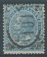 1865 REGNO USATO EFFIGIE 20 CENT II TIPO  - RR4517-12 - 1861-78 Vittorio Emanuele II