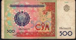 UZBEKISTAN P81 500 SOM 1999  FINE NO P.h. ! - Uzbekistan