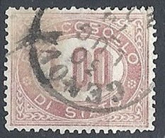 1875 REGNO USATO SERVIZIO DI STATO 1 LIRA - RR12939 - Servizi