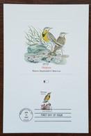 Etats-Unis - CM 1982 - YT N°1407 - Faune Et Flore Officielles Des Etats De L'Union / Montana - Maximumkarten (MC)