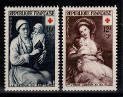 YV 966 & 967 N** Croix Rouge 1953 Cote 23,50 Euros - Francia