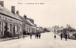 346  - Cpa 03  Thiel - L'Avenue De La Gare - Sin Clasificación