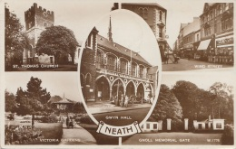 NEATH - Mehrbilderkarte Gel.1958 - Wales