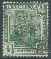 Trinidad & Tobago. 1921-22 Britannia. ½d Used. Mult Script CA W/M. SG 206 - Trinidad & Tobago (...-1961)