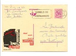 BELGIQUE PUBLIBEL OBL. 2546 N AGENCE LA FOURMI - Interi Postali