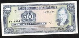 NICARAGUA   P133   500  CORDOBAS    1979    UNC. - Nicaragua