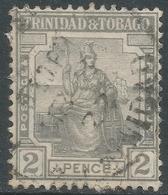 Trinidad & Tobago. 1921-22 Britannia. 2d Used. Mult Script CA W/M. SG 209 - Trinidad & Tobago (...-1961)