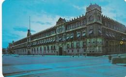 PALACIO NACIONAL Y EL ZOCALO, MEXICO DF AMEX ASOCIADO SA.VOYAGEE 1979. MEXICO- BLEUP - Mexico