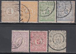 1884   YVERT Nº 1 / 7 - Impuestos