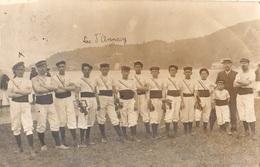 SOUVENIR DES FETES CONCOURS DE GYMNASTIQUE 6,7,8,9 JUIN 1908 D'ANNECY (CARTE PHOTO ) RARE - Annecy