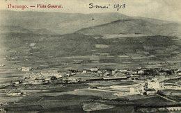 CLICHE TRES RARE   DURANGO VISTA GENERAL - Vizcaya (Bilbao)