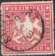 ALLEMAGNE ! Timbre Ancien De WURTEMBERG De 1863 N°26 - Wurtemberg