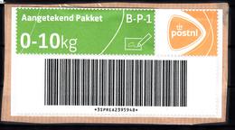 Postwaardestuk: Aangetekend Pakket B-P-1 0-10 Kg. Van PostNL - Entiers Postaux