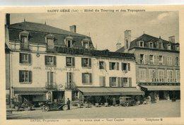 SAINT CERE(HOTEL) AUTOMOBILE - Saint-Céré