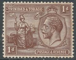 Trinidad & Tobago. 1922-28 KGV. 1d MH. Mult Script CA W/M. SG 219 - Trinidad & Tobago (...-1961)