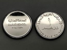 UAE United Arab Emirates 2018 UNC One Dirham Commemorative Emirate School - United Arab Emirates