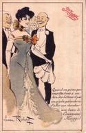 """CPA """"Art Nouveau"""", Pub Pour Produits MAGGI. Illustrée Par Lucien ROBERT. Bon état. 2 Scan. - Robert"""