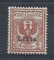 1912-15 LIBIA STEMMA 2 CENT MNH ** - RR8223-3 - Libya