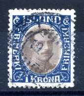 1931-34 ISLANDA N.151 USATO - 1918-1944 Amministrazione Autonoma