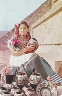 VENDEDORA DE OLLAS, SAN JUAN TEOTIHUACAN, ED APDO. CIRCA 1965. MEXICO- BLEUP - Mexico