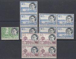 Belgisch Congo 1955 Koning Boudewijn & Landschappen 12w ** Mnh (40536) - Belgisch-Kongo