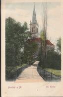 Höchst,ev. Kirche  1918 - Hoechst