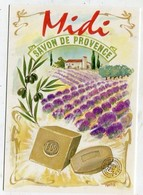 ADVERTISMENT  - AK 331961 Midi - Savon De Provence - Publicidad
