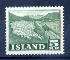 1950 ISLANDA N.233 MNH ** - 1944-... Repubblica