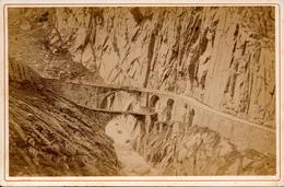 Ad.Braun, Gothard, Pont Du Diable - Alte (vor 1900)