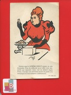 SUPREME PERNOT Biscuit Chromo Illustrateur Jossot Femme Imp Camis - Pernot