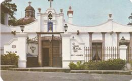 RESTAURANTE ANTIGUO SAN ANGEL INN, PALMAS Y ALTAVISTA, MEXICO DF. CRISTACOLOR. CIRCA 1965. MEXICO- BLEUP - Mexico