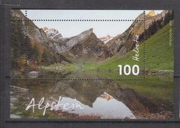 Schweiz ** Block 68 Alpstein Neuausgabe 6.9.18 - Neufs