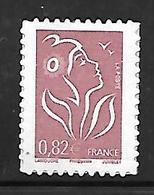A258  Adhésif N°84L Marianne De Lamouche N** - Adhésifs (autocollants)