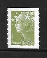 A259  Adhésif N°286 Marianne De Beaujard N** - France