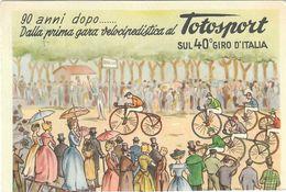 40° GIRO ITALIA ANNO 1957 - PRESENTI 19 CARTOLINE SU 21 DELLE TAPPE - MANCANO LA 2.a E LA 18.ma TAPPA - TAGLIO SPOSTATO - Ciclismo