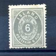 1876 ISLANDA N.7 * - Nuovi