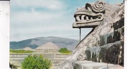 PIRAMIES DE SAN JUAN TEOTIHUACAN. MARCOLOR. CIRCA 1965. MEXICO- BLEUP - Mexico
